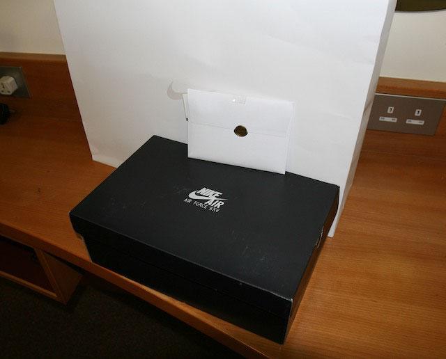 nikeAF1box