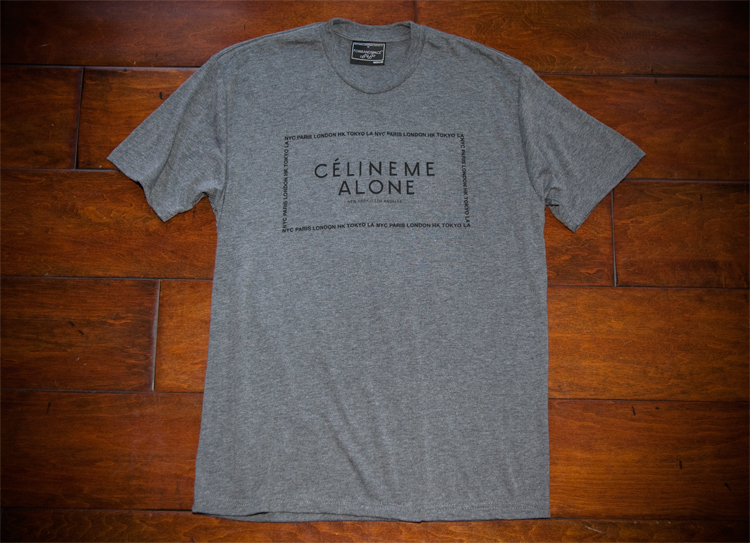 CÉLINE ME Alone Grey