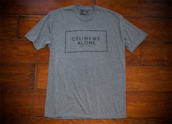 Céline Me Alone (Grey Melange)